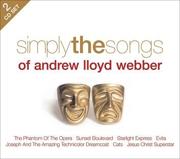 Various - Simply The Songs Of Andrew Lloyd Webber (2CD / Download) - CD
