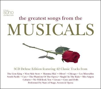 Various - The Greatest Songs From The Musicals (3CD) - CD