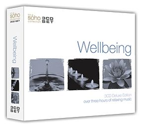 Various - Wellbeing (3CD) - CD