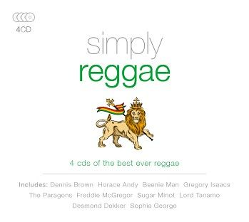 Various - Simply Reggae  (4CD) - CD