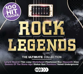 Various Artists - Ultimate Rock Legends (5CD) - CD