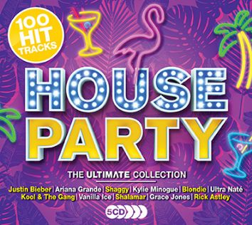 Various - Ultimate House Party (5CD) - CD