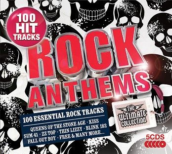 Various - Rock Anthems - The Ultimate Collection (5CD) - CD
