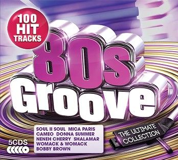 Various - 80s Groove - The Ultimate Collection (5CD) - CD