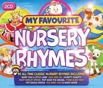 Various - My Favourite Nursery Rhymes (3CD / Download) - CD