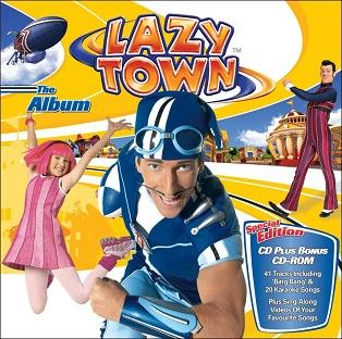 LazyTown - LazyTown - The Album (CD+CD Rom) - CD