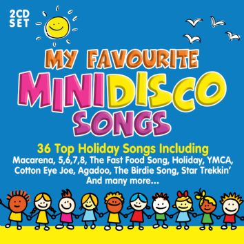 Various - My Favourite Mini Disco Songs (2CD) - CD