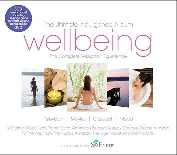 Various - The Ultimate Wellbeing Album (3CD + DVD) - CD