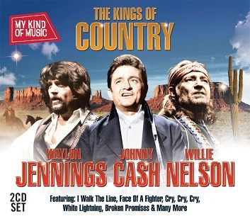 Various - My Kind Of Music - Kings Of Country (2CD / Download) - CD
