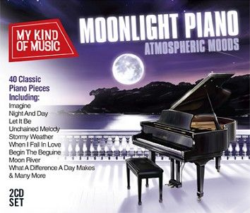 Various - My Kind Of Music - Moonlight Piano  (2CD) - CD