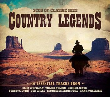 Various - Country Legends (2CD) - CD