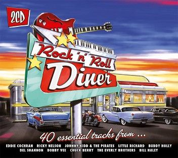 Various - Rock 'n' Roll Diner (2CD) - CD