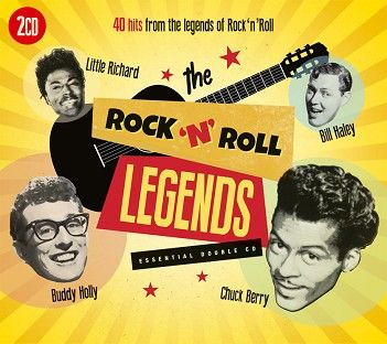 Various - Rock 'n' Roll Legends (2CD) - CD