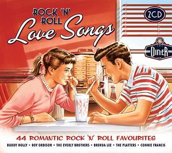 Various - Rock 'N' Roll Love Songs (2CD) - CD