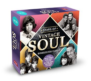 Various - Stars Of Vintage Soul (3CD) - CD