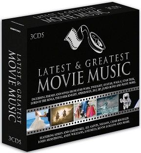 Various - Latest & Greatest Movie Music (3CD) - CD