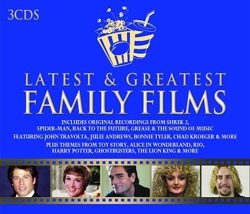 Various - Latest & Greatest Family Films (3CD) - CD