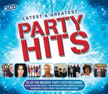 Various - Latest & Greatest Party Hits (3CD) - downloads, cds and