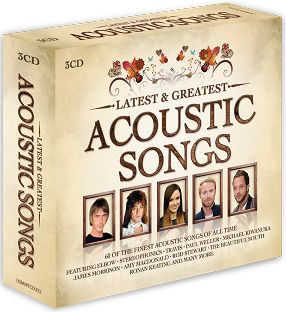 Various - Latest & Greatest Acoustic Songs (3CD) - CD