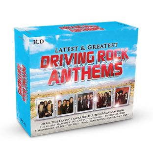 Various Artists - Latest & Greatest Driving Rock Anthems (3CD) - CD