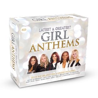 Various - Latest & Greatest Girl Anthems (3CD) - CD