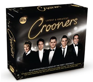 Various - Latest & Greatest Crooners (3CD) - CD