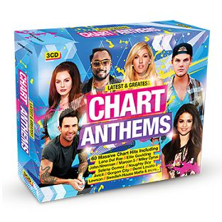 Various - Latest & Greatest Chart Anthems (3CD) - CD