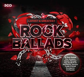 Various - Latest & Greatest Rock Ballads (3CD) - CD
