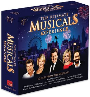 Various - The Ultimate Musicals Experience (3CD / Download) - CD