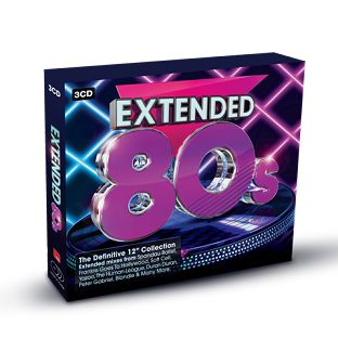 Various - Extended 80s (3CD / Download) - CD