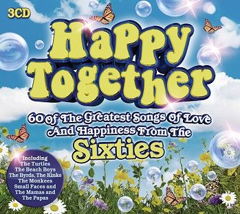 Various - Happy Together- 60 Of The Greatest Songs Of Love And Happiness From The Sixties (3CD) - CD