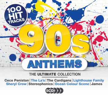 Various - Ultimate 90s Anthems (5CD) - CD
