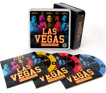 Various - Las Vegas Cool Lounge (3CD Tin) - CD
