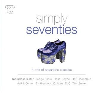 Various - Simply Seventies (4CD) - CD