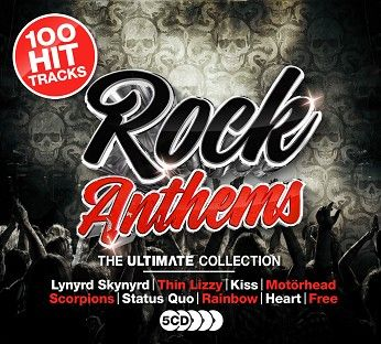 Various - Ultimate Rock Anthems (5CD) - CD